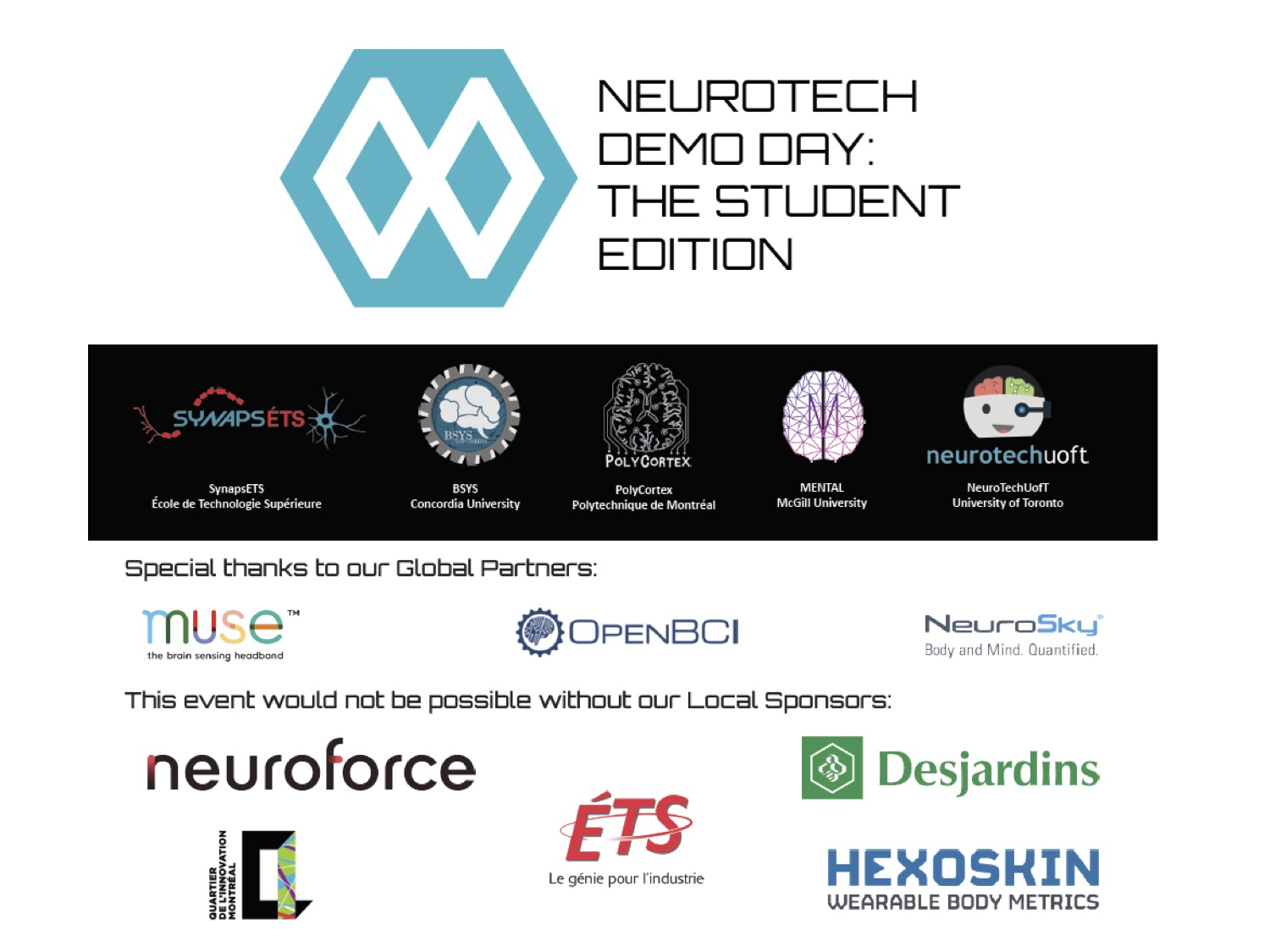Student Clubs - Demo Day 2016